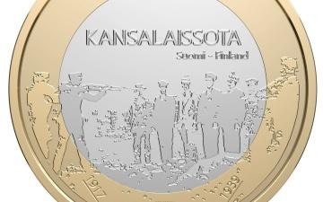 Выпущенную в Финляндии юбилейную монету с расстрелом изымают из обращения