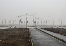 В Ростове на одном перекрестке поставили 18 светофоров