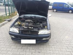 На польско-украинской границе изъяли 22 кг янтаря, спрятанных в газовом баллоне автомобиля