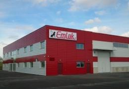 В Нарвском промпарке открывается новый завод по производству лакокрасочных материалов фирмы Emlak