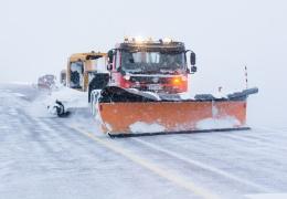 Департамент: дороги в Эстонии заснежены