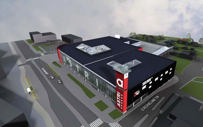 Реконструкция торгового центра Astri: куда переезжают магазины?
