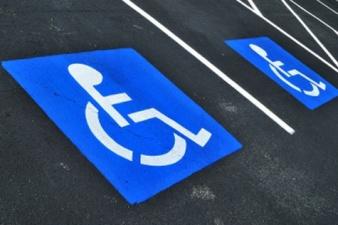 Автомобиль президента был припаркован на месте для инвалидов