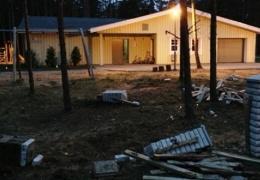 В Нарва-Йыэсуу автомобиль снес забор детского дома