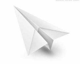 Бумажный самолетик разными способами