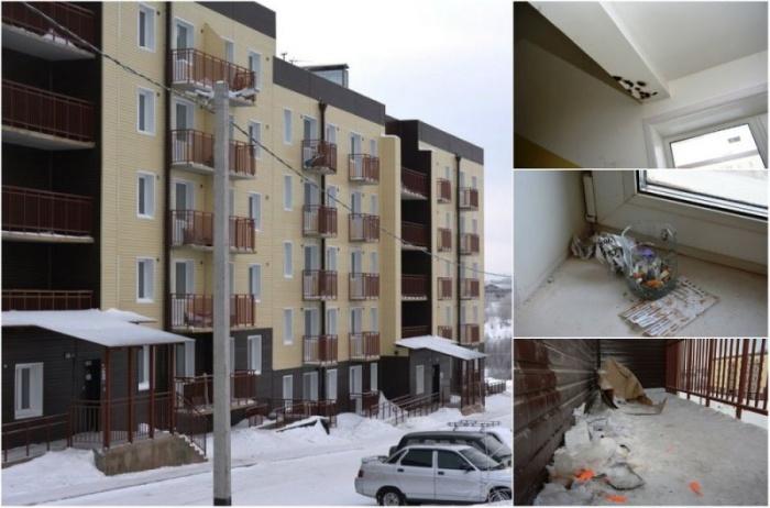 Переселенцы из аварийного жилья загадили новостройки