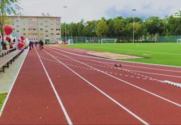 Кренгольмская гимназия Нарвы получила новый современный стадион