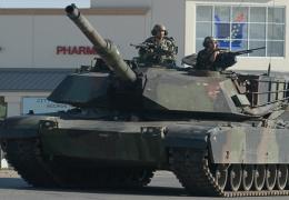 На параде в Таллинне покажут американский танк Abrams