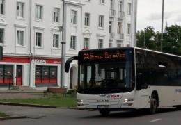 Общественный транспорт Нарвы перешел на зимнее расписание