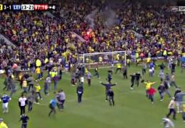 Забить гол на последней минуте после того, как отбили пенальти