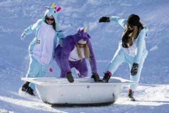 Гонки на ванных в Швейцарии