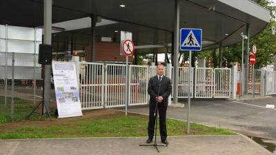 В Нарвский погранпункт было инвестировано 8,2 млн евро