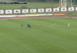 В Беларуси вратарь забил гол ударом через все поле
