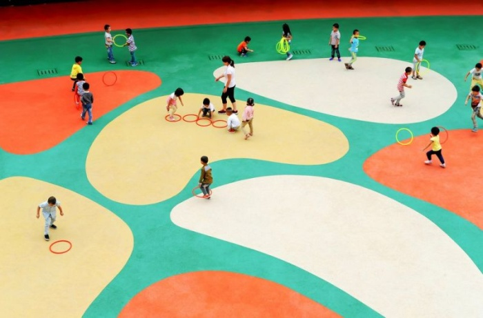 Современный детский сад в Китае