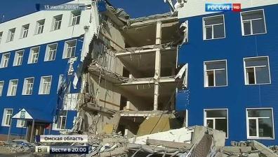 Шойгу: на месте рухнувшей в Омске казармы установят обелиск