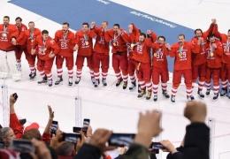 Американская газета осудила российских хоккеистов за исполнение гимна РФ