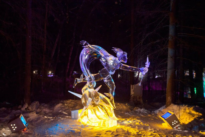 Ice Alaska - World Ice Art чемпионат 2013