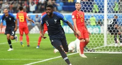 ЧМ-2018: Франция обыграла Бельгию и стала первым финалистом мундиаля