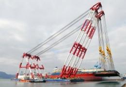 Самый большой в мире плавучий кран
