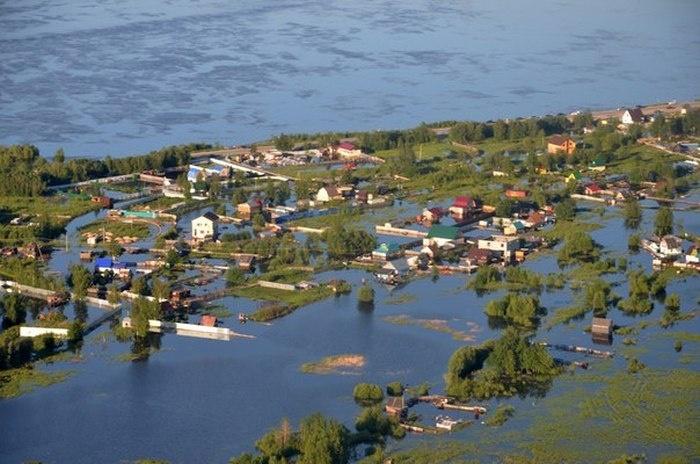 Нефтяное наводнение в Нефтеюганске