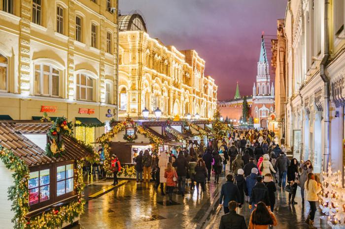 Москва в канун Нового года