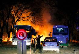 Около общежития военных в Анкаре произошел мощный взрыв: 28 погибших