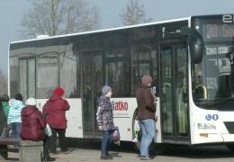 Общественный транспорт Нарвы перешел на новое расписание