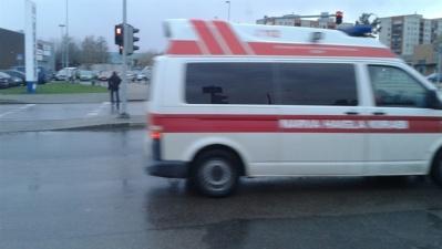 В Нарве в ДТП с участием легковушки и трактора пострадала девушка