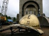 Над новым храмом засияют купола