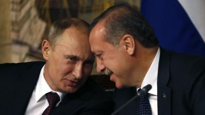 Путин принес извинения Эрдогану за смертельнный удар авиации РФ по турецким военным в Сирии
