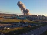 Под Петербургом прогремел взрыв на заводе