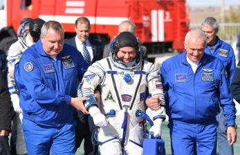 """Космонавты с упавшего """"Союза"""" родились в рубашках"""