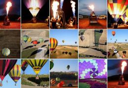 Фестиваль воздушных шаров в Италии