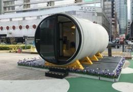 Дома из бетонных труб в будущем вполне могут решить проблему перенаселения больших городов