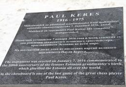Владимир Бутузов обещает исправить ошибки на памятнике Кересу