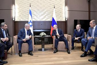 Путин призвал Нетаньяху уважать суверенитет Сирии после авиаудара ВВС Израиля в провинции Хомс