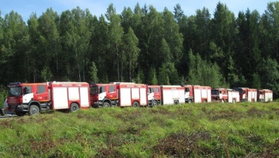 Крупный лесной пожар в Ида-Вирумаа удалось потушить