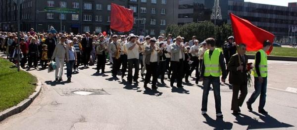 Торжественный митинг 9 мая пройдет на стадионе