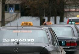 Нарвские таксисты из Seti Takso решили месяц ездить по тарифу 2,5 евро