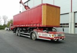 Schnibbelmobil — необычный тягач, созданный по заказу немецкого производителя