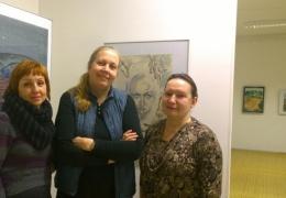 """11 нарвских художниц сделали весеннюю выставку """"Акварельные монологи"""""""