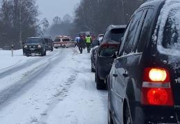 В ДТП на дороге между Нарвой и Нарва-Йыэсуу пострадали два человека