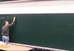 В наше время доски преподавателям на голову не падали!