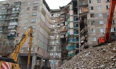 Жильцы дома в Магнитогорске начали возвращаться в квартиры после взрыва