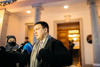 Юри Ратас подал президенту заявление об отставке с поста премьера