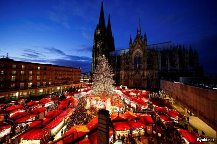 Красивые праздничные убранства разных городов мира