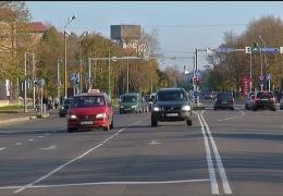 """Светофоры на Таллиннском шоссе в Нарве перенастроят на """"зеленую волну"""""""