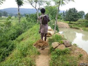 Индиец 27 лет в одиночку копал пруд
