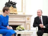 В Кремле завершилась встреча Керсти Кальюлайд и Владимира Путина