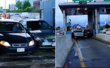 Глупая авария